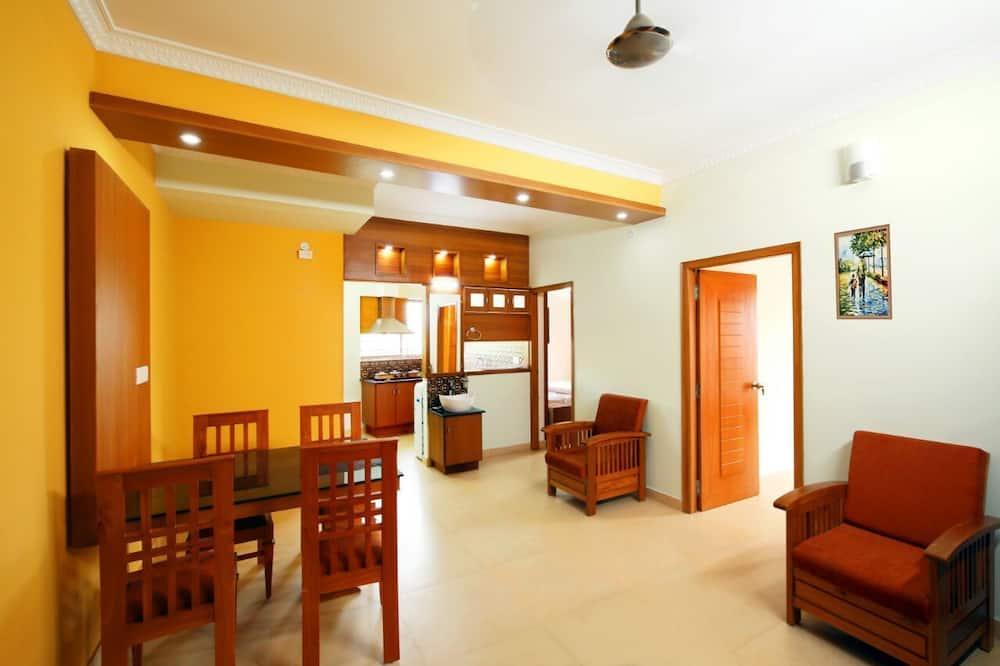 Departamento Deluxe, 1 habitación - Servicio de comidas en la habitación