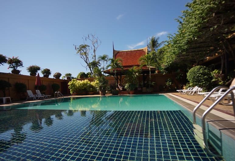 부겐빌레아 테라스 하우스, 카론, 야외 수영장