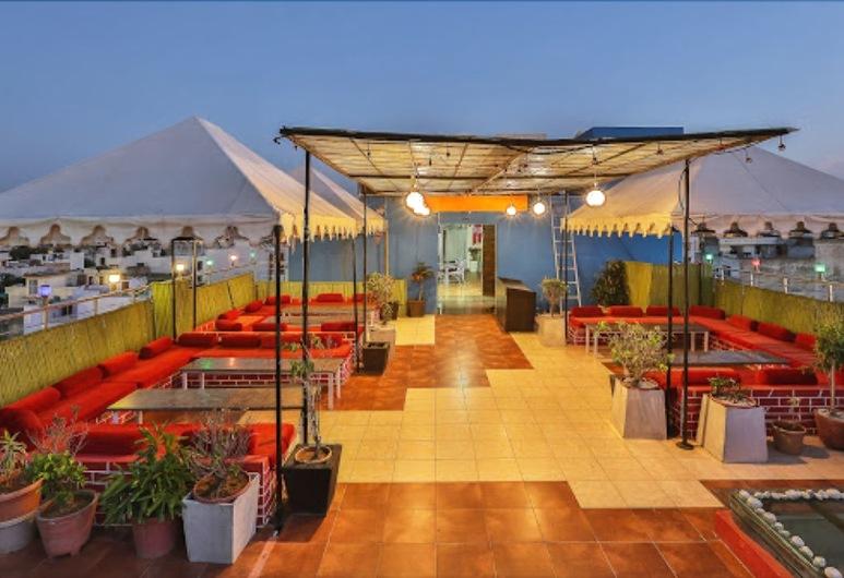 TGI Apple Inn, Jaipur, Terrasse/Patio