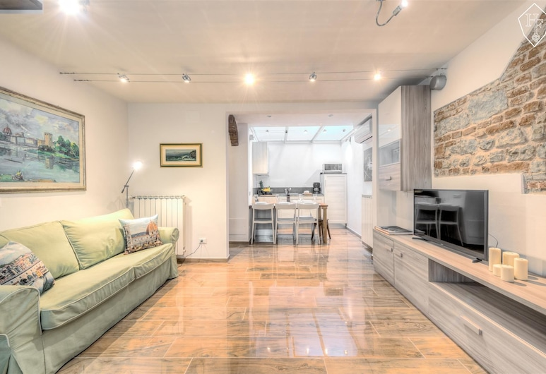Signoria Elegant, Florence, Standard Apartment, 2 Bedrooms, Living Room