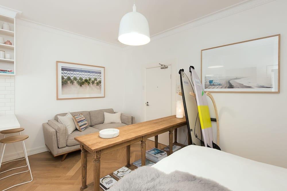 Appartement, 1 tweepersoonsbed - Woonruimte