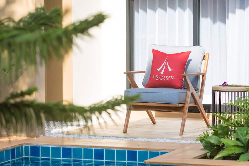 Aurico Deluxe Pool Access  - 발코니