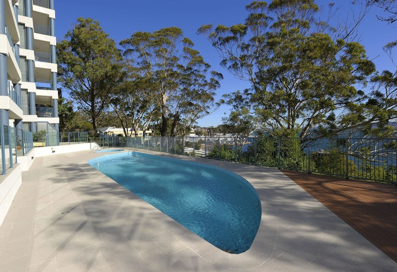 Le Vogue, Unit 11, 16 Magnus Street, Nelson Bay, Outdoor Pool
