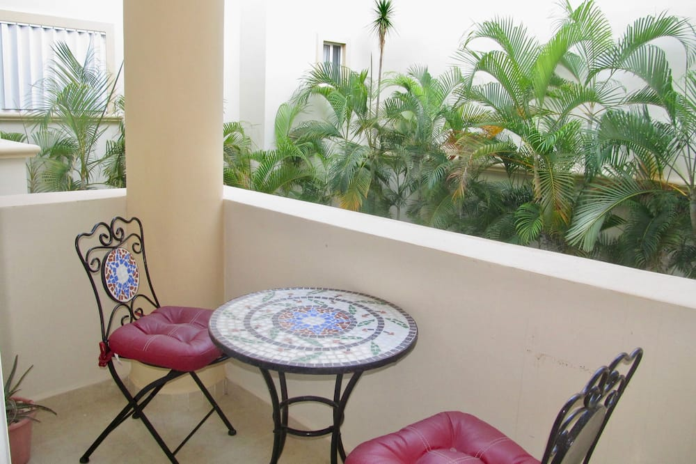 Premier appartement, 2 slaapkamers, Balkon (1 King and 1 Queen Bed) - Balkon