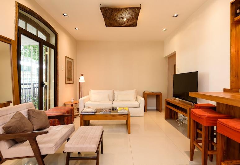 All in Rio - Excelente Área do Leblon, Rio de Janeiro, Apartment, Living Room