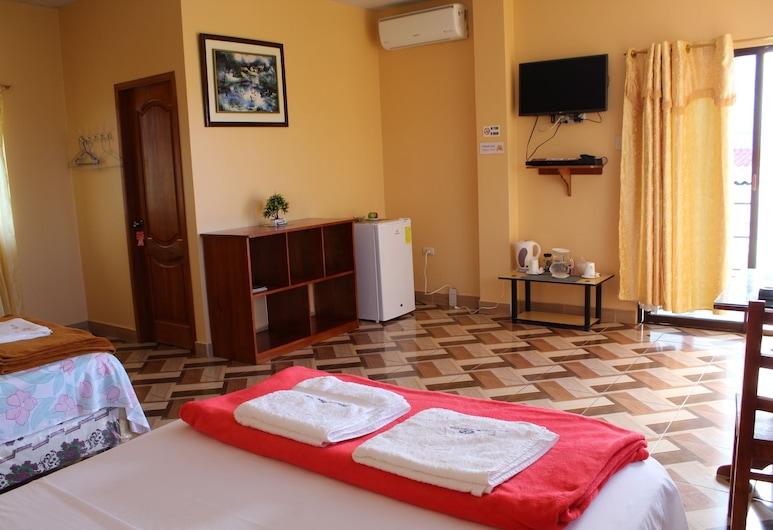 Hospedaje Romy, Пуэрто-Бакерисо-Морено, Двухместный номер «Комфорт» с 1 двуспальной кроватью, Номер