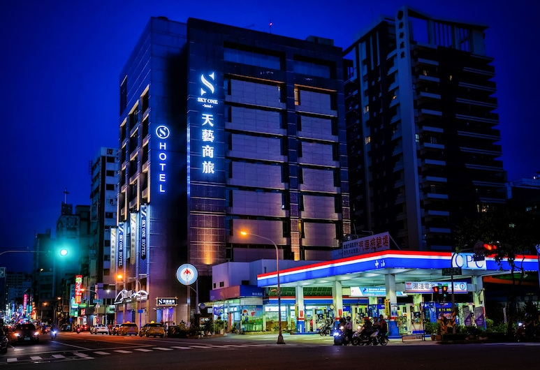 Skyone Hotel, Kaohsiung, Hotellets front
