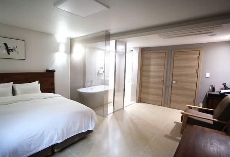 HOTEL YOU&I, Incheon, Double Room, 1 Double Bed, Guest Room
