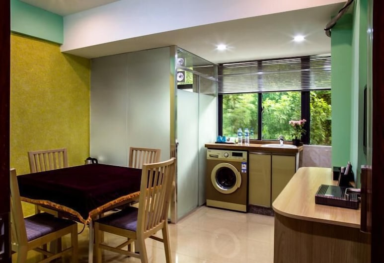 She He Apartment North Science Park Branch, Shenzhen, Svit Standard, Vardagsrum