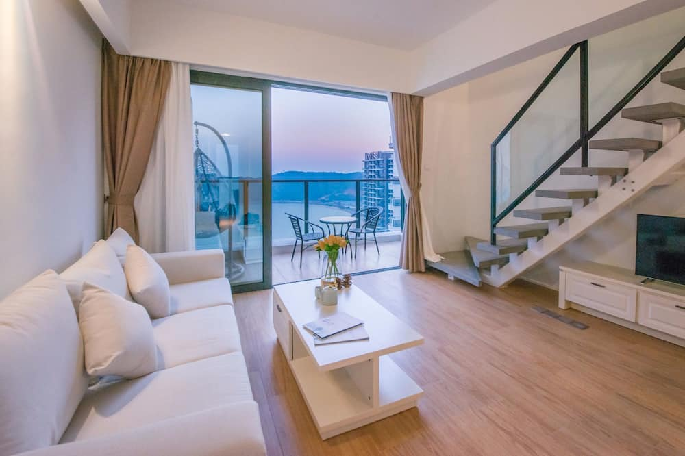 Dúplex Premier - Sala de estar