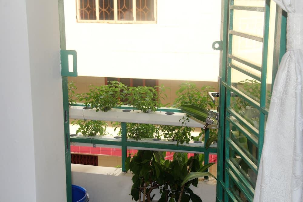 Suite, non fumatori, vista città - Balcone