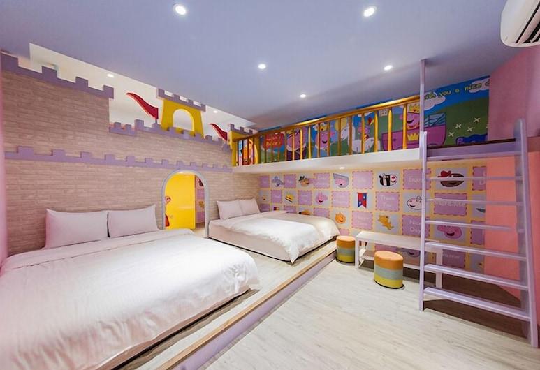 โซฟานีคาสเซิล, Luodong, ห้องพักสำหรับสี่ท่าน, ห้องพัก