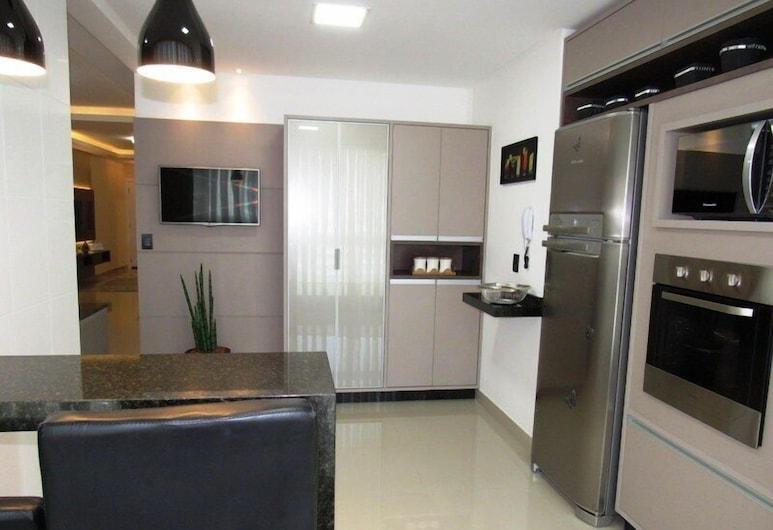 Perfect Meia Praia Itapema BCHost 03, Itapema, Căn hộ dành cho gia đình, Nhiều phòng ngủ, Có phòng tắm riêng, Quang cảnh thành phố, Bếp nhỏ riêng
