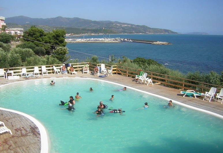 Hotel Hydra Club, Casal Velino, Kültéri medence
