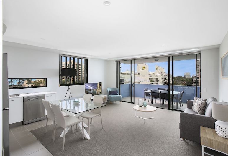 Direct Hotels - Sea Breeze Mooloolaba, Mooloolaba, Two Bedroom Apartment, Standard, Living Area