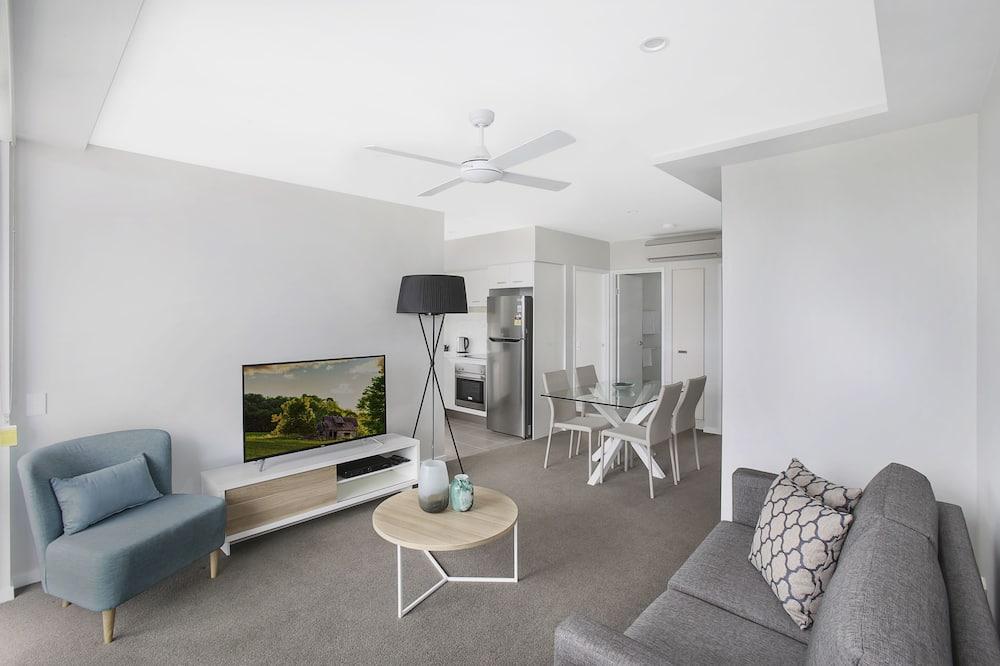 Standard-Apartment, 2Schlafzimmer, Meerblick - Wohnzimmer