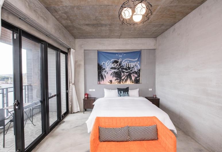 Cimei Inn, Hengchun, Comfort Double Room, Balcony, Guest Room