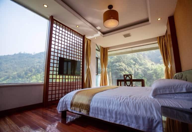 Lin An He Run Shi Jia Resort, Hangzhou, Apartmá typu Deluxe, výhled na hory, Pokoj