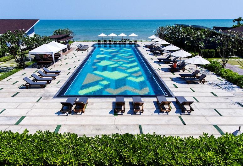 華欣珊瑚樹別墅酒店, 七岩, 日光浴平台