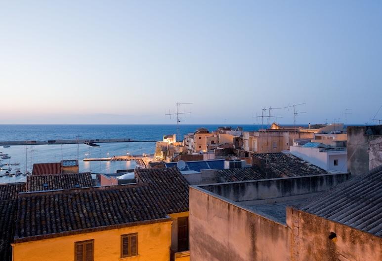 Domus Mariae - Appartamenti per uso turistico, Castellammare del Golfo, Departamento, 2 habitaciones, balcón, vista al mar (La Marina), Habitación