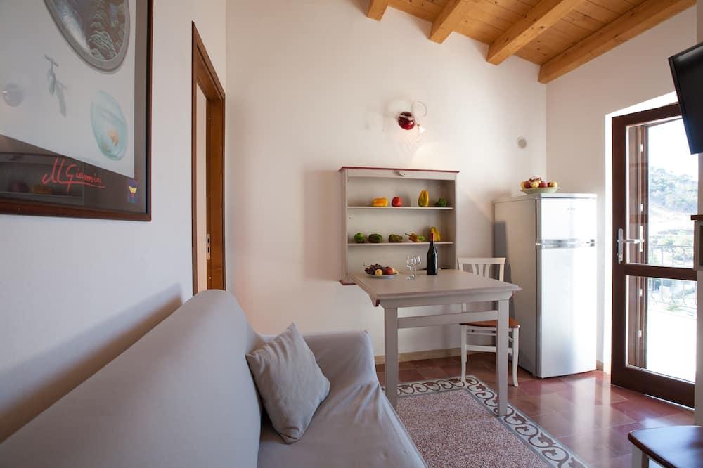Departamento, 1 habitación, terraza, vista al mar (Terrazza sul mare) - Sala de estar