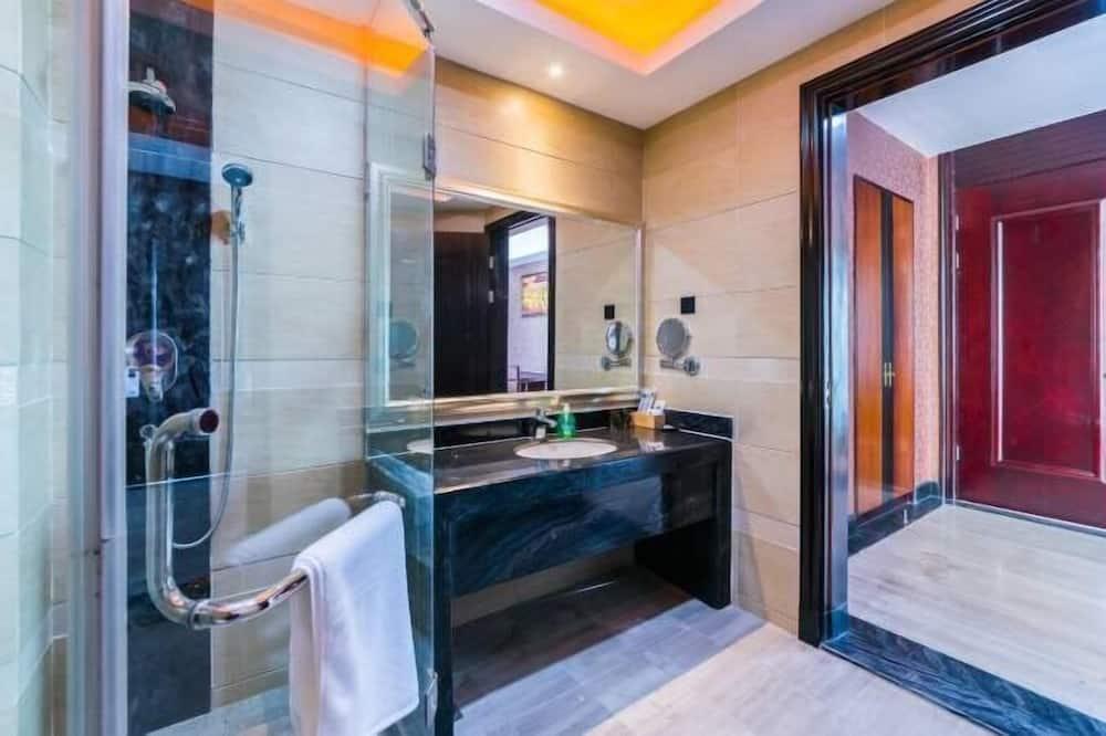 Villa, 1 kingsize bed - Badkamer