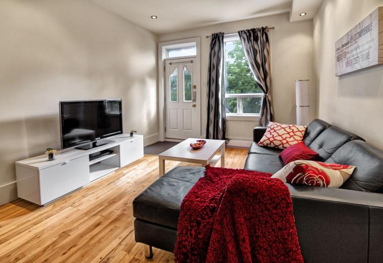 One Bedroom Apartment near Laurier Park offered by Short Term Stays, Montreal, Lejlighed - 1 soveværelse, Opholdsområde