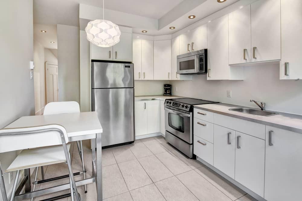 Dzīvokļnumurs, viena guļamistaba - Privāta virtuve