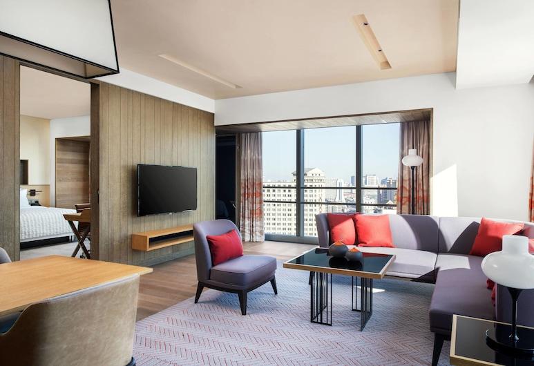 Le Meridien Shenyang, Heping, שן-יאנג, סוויטת קלאב, חדר שינה אחד, ללא עישון, חדר אורחים