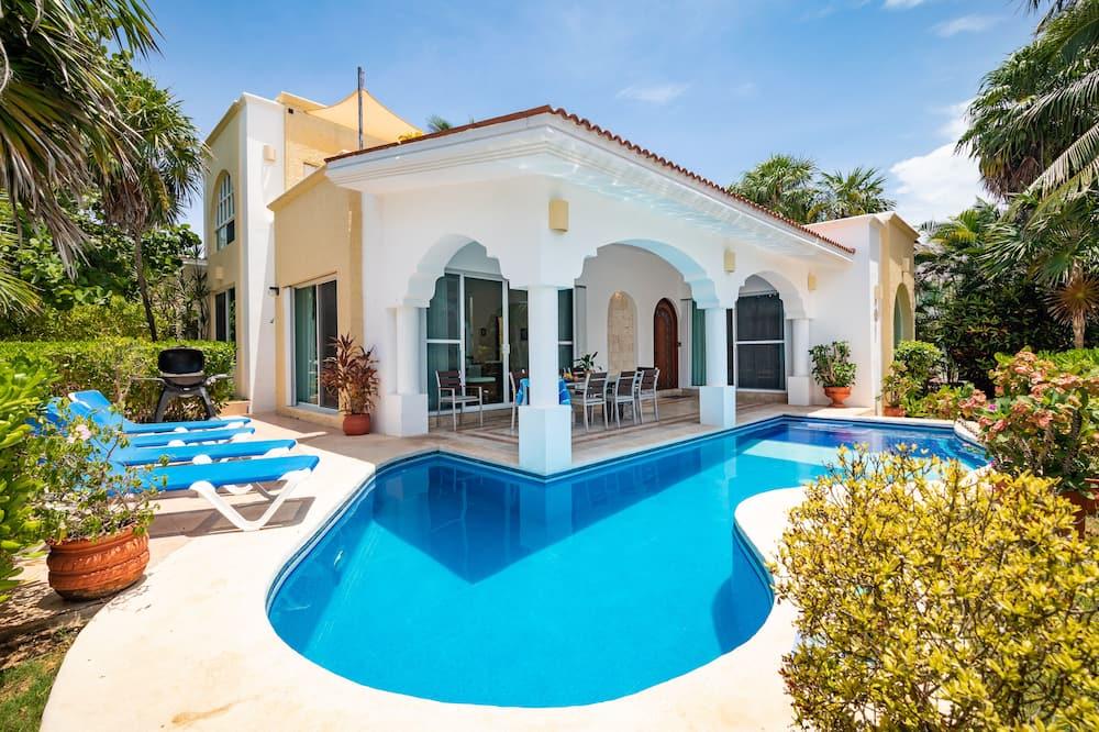 Villa Deluxe, 4 habitaciones, piscina privada, vista a la playa - Alberca privada