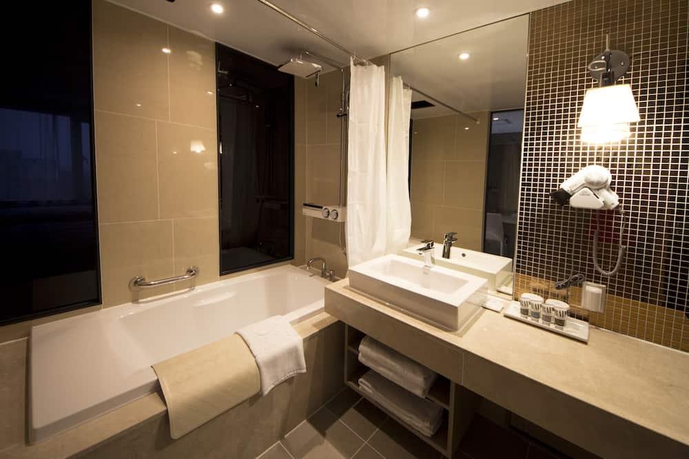 디럭스룸 (Ondol) - 욕실