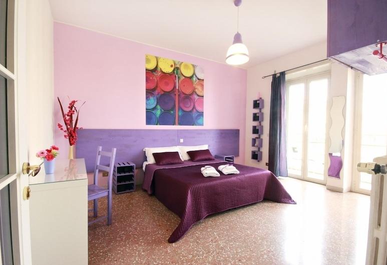 Luna d'Est, Rome, Quadruple Room, Shared Bathroom, Guest Room