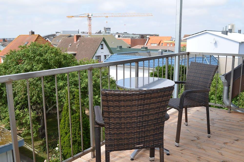 Premium-dobbeltværelse - balkon - Altan