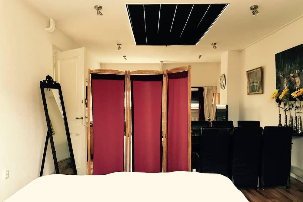 經典頂樓客房, 1 張特大雙人床, 城市景觀 - 客廳