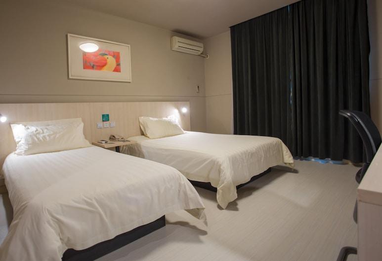 Jinjiang Inn Shanghai Xintiandi Xizang South Road, Shanghái, Habitación empresarial con 2 camas individuales (A), Habitación