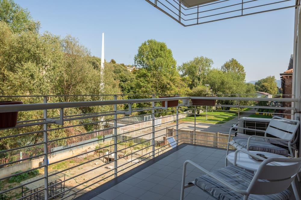 Departamento Confort, 1 habitación, terraza, vista al río - Balcón
