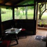 Cabin phong cách cổ điển, Nhiều giường, Bếp, Quang cảnh đồi núi (Anyico) - Ăn uống tại phòng