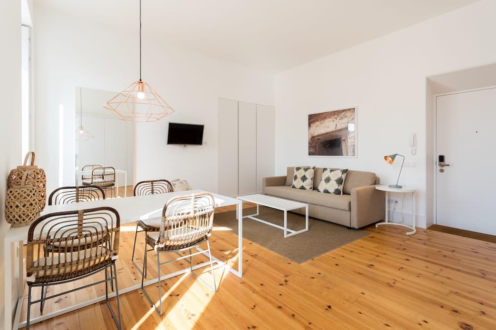 Luxe appartement, 1 slaapkamer - Woonruimte