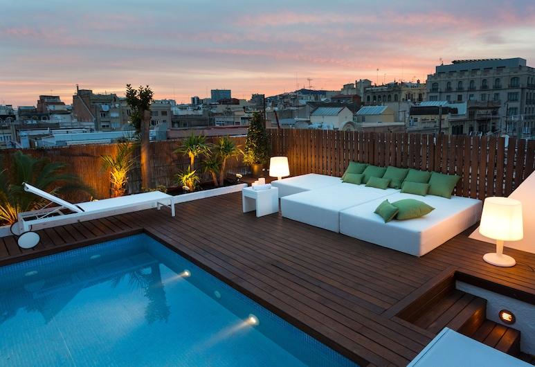 Rambla B - Ático en Rambla Catalunya con terraza para 2 personas, Barcelona