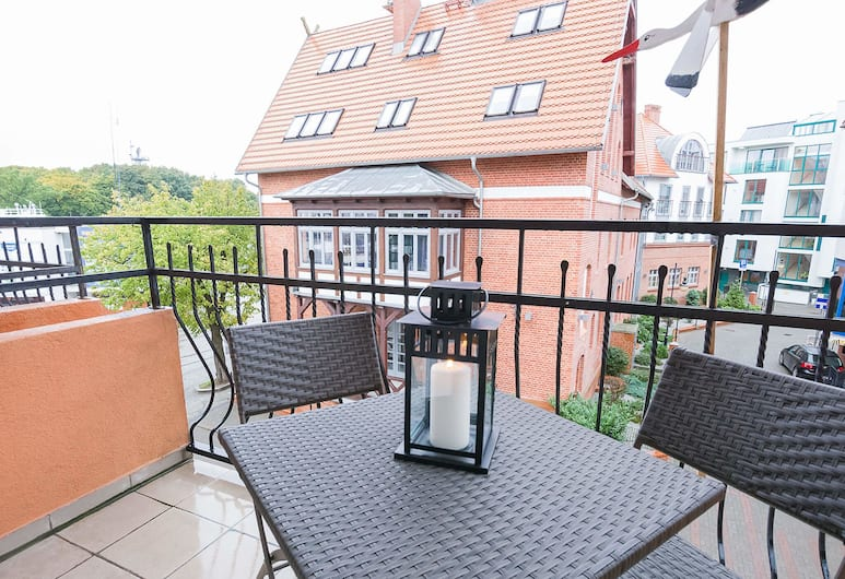 VacationClub - Towarowa Apartments, Kolobrzeg, Apartment, 1 Schlafzimmer, Balkon