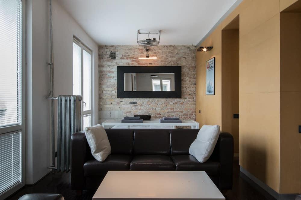 時尚開放式客房, 1 張標準雙人床和 1 張沙發床 - 客房