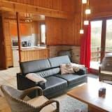 Bungalow Luxe, 4 chambres, sauna - Salle de séjour