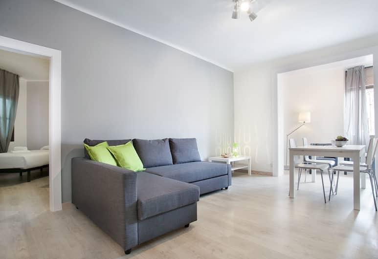 Bbarcelona Encants Family Flat, Barcelona, Lägenhet - 3 sovrum, Vardagsrum
