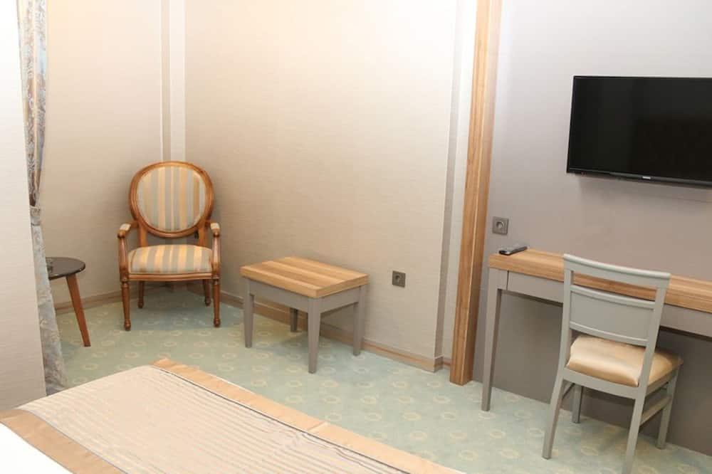 ห้องสแตนดาร์ดดับเบิลหรือทวิน - พื้นที่นั่งเล่น