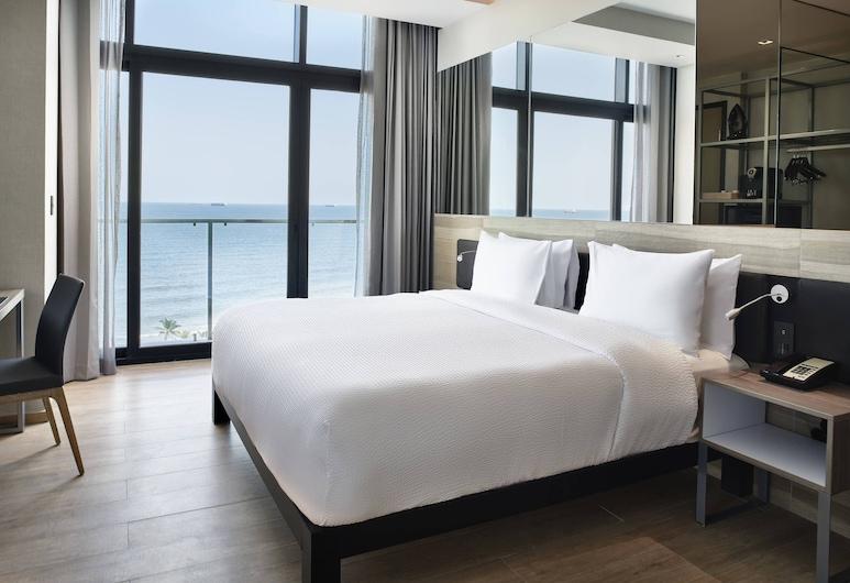 AC Hotel by Marriott Veracruz, Boca del Río, Habitación, 1 cama de matrimonio grande, no fumadores, vistas a la ciudad, Vistas de la habitación