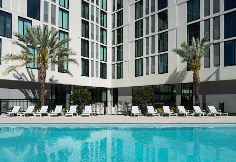 AC Hotel by Marriott Tampa Airport, Tampa, Piscina Exterior
