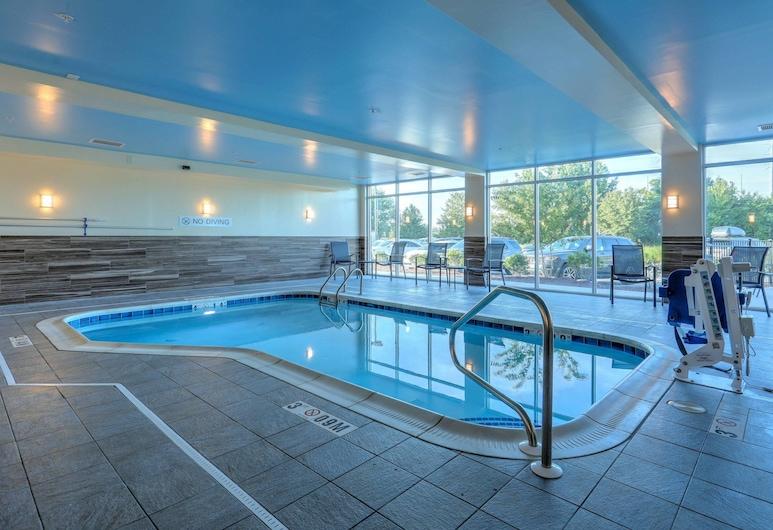 Fairfield Inn & Suites by Marriott Greenville, Grinvilis, Vidaus baseinas