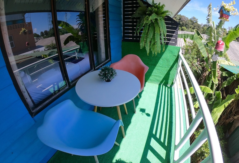 Baan Artima Mini Resort, Satun, Deluxe Double Room with Balcony , Terrace/Patio