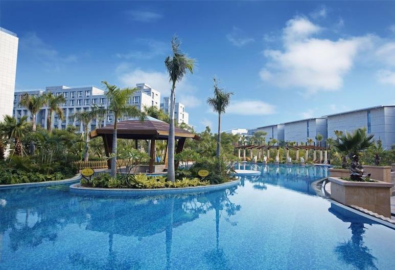 Xiamen Software Park Fliport Hotel, שיאנמן, בריכה חיצונית