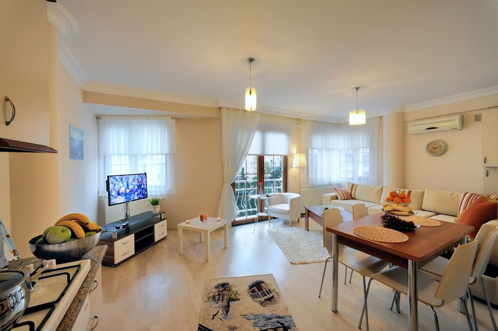 Family Apartment, 2 Bedrooms, Kitchen - Living Room